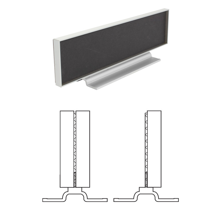 Architectural Aluminum Counter Frame